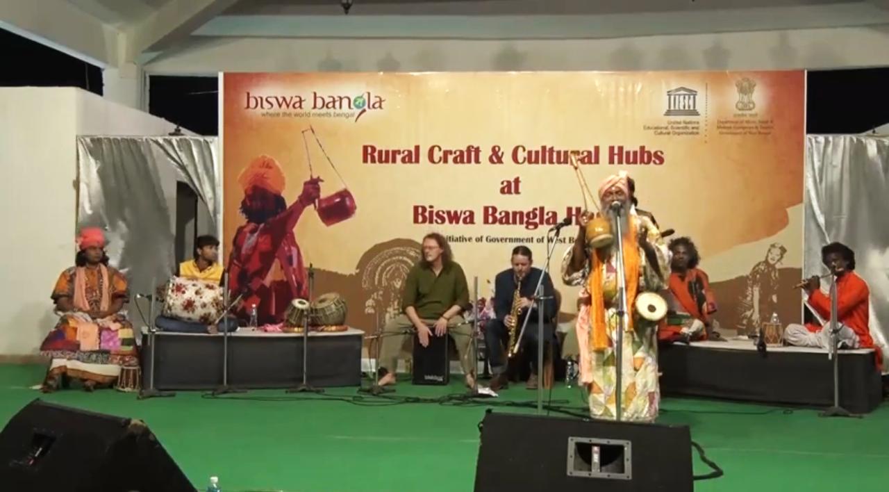 Baul performance by Baul Guru Bhajan Das Bairagya