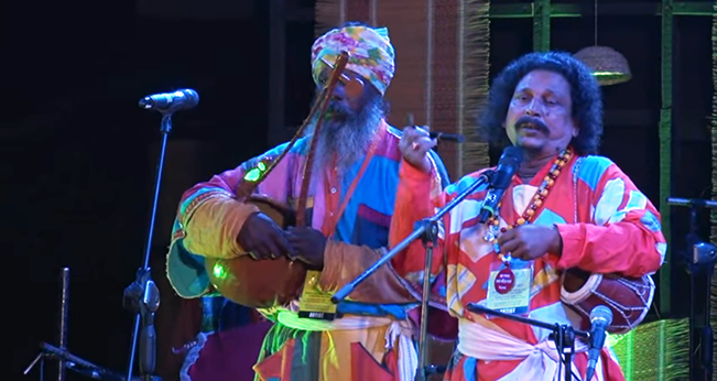 Baul performance by Gopi Das Baul
