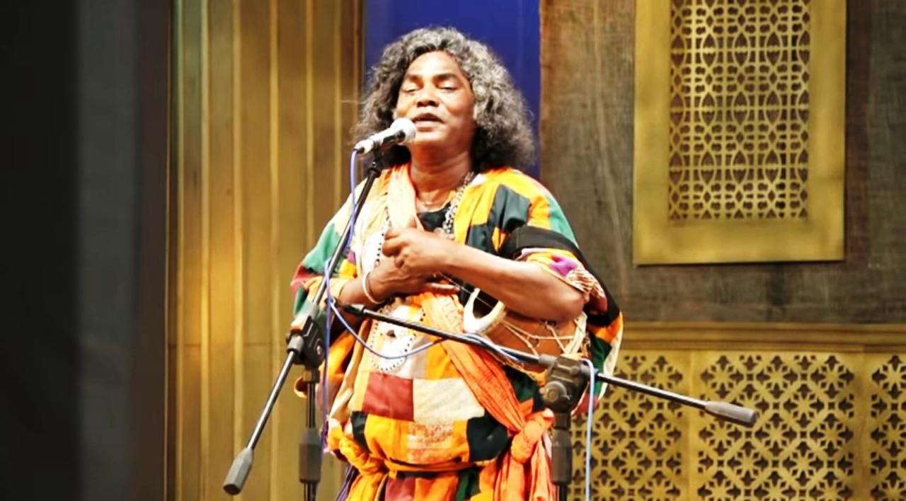 Baul performance by legendary Baul Late Tarak Khyapa