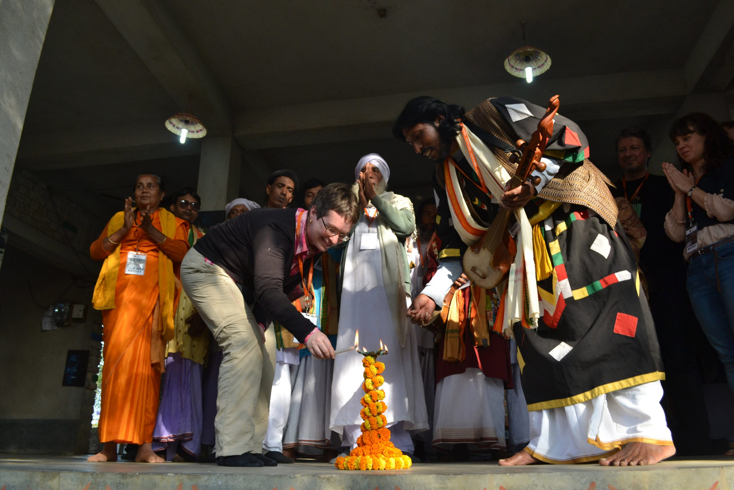 Inauguration of Baul Fakiri Utsav 2014