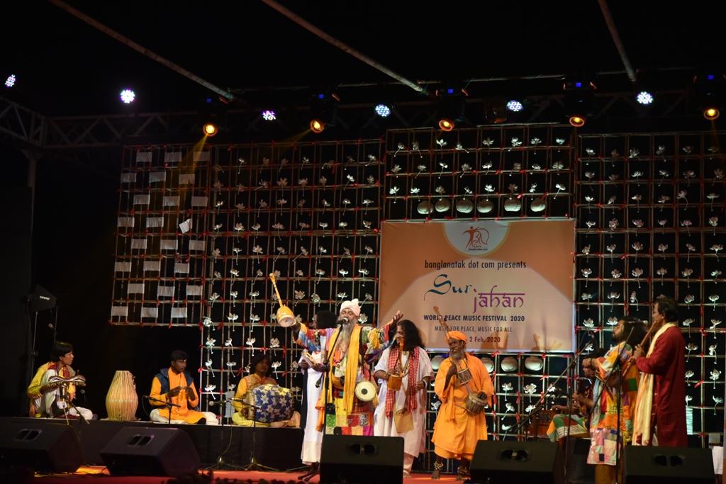 Bhajan Das Baul at Sur Jahan 2020