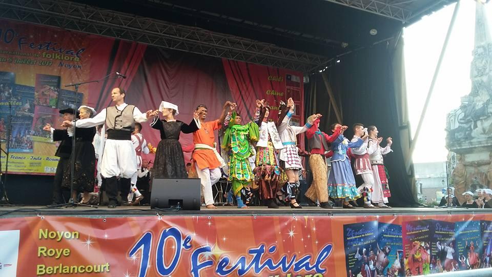 International Folklore Festival, France, July 4-8, 2017