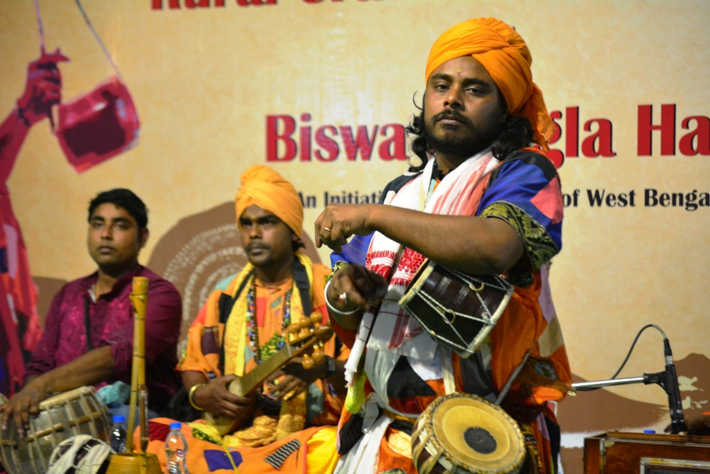 Gobinda Das Baul at Biswa Bangla Haat