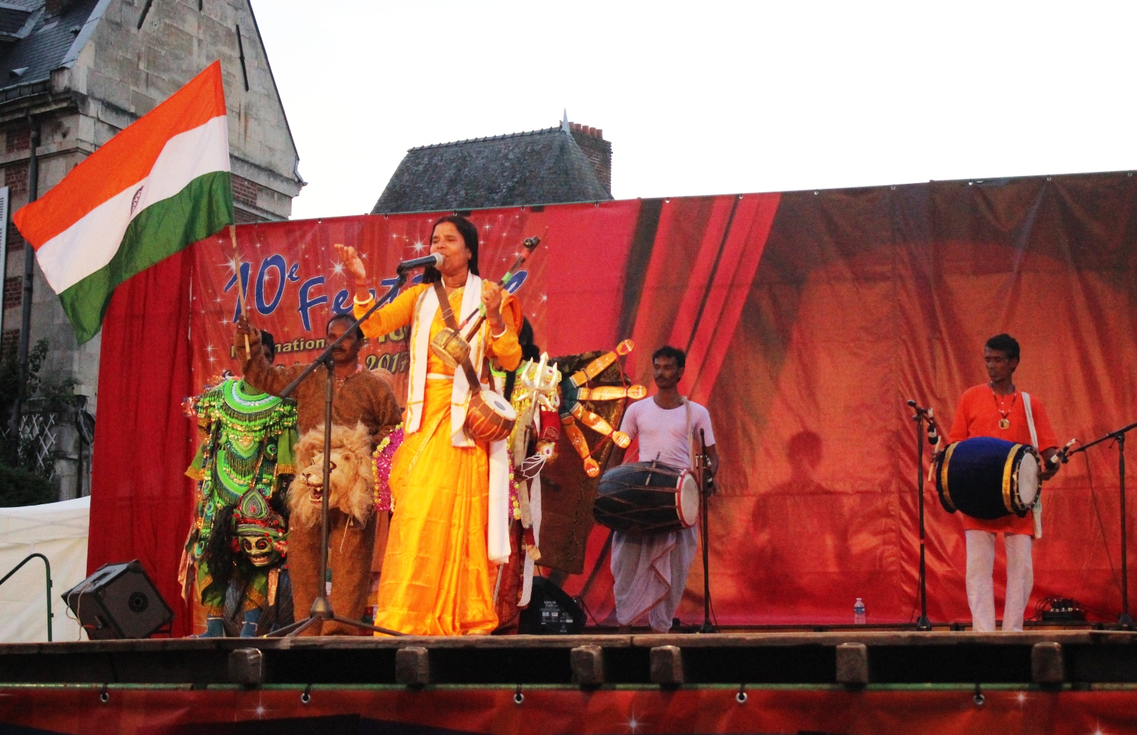 International Folklore Festival, Noyon, 2017