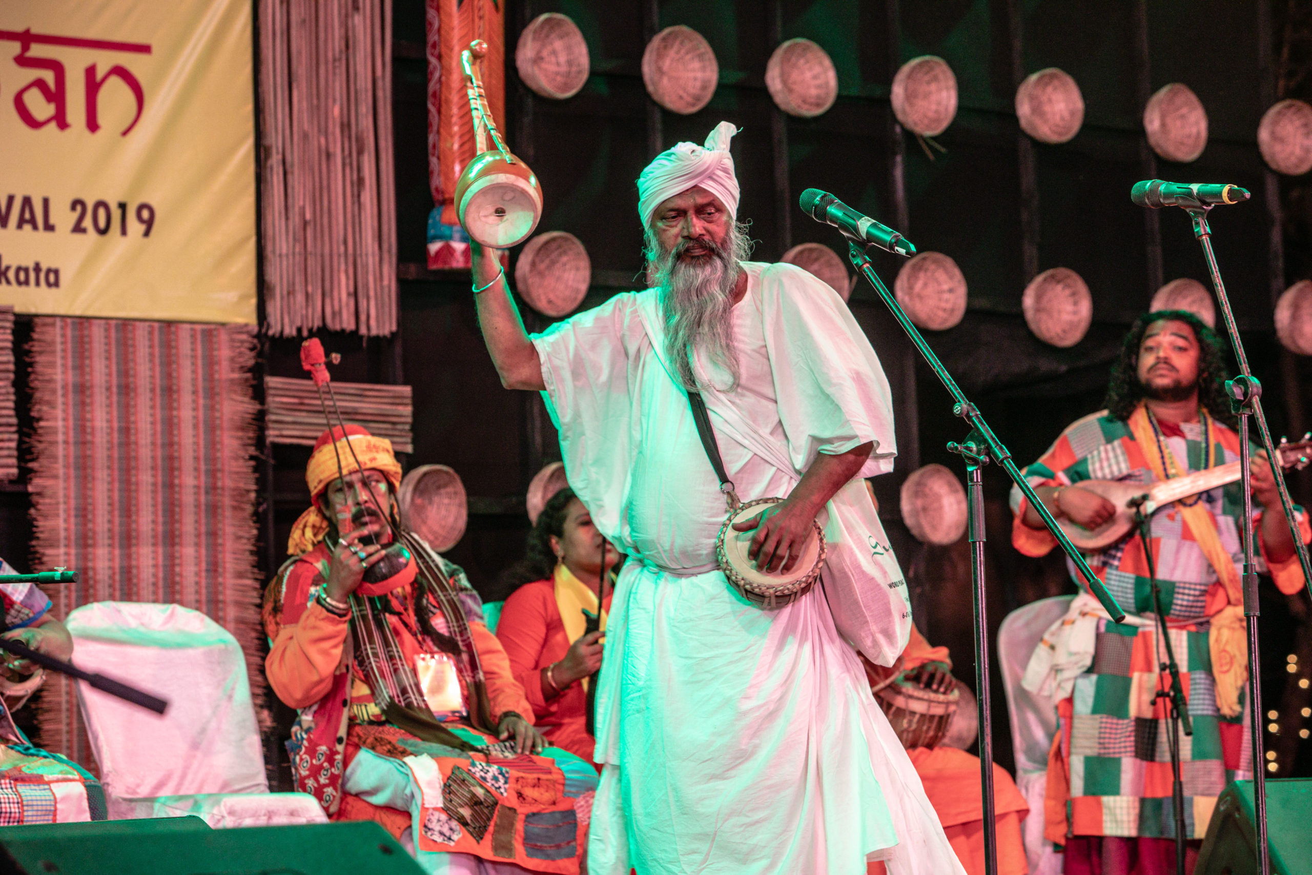 Bhajan Das Bairagya performing at Sur Jahan 2019